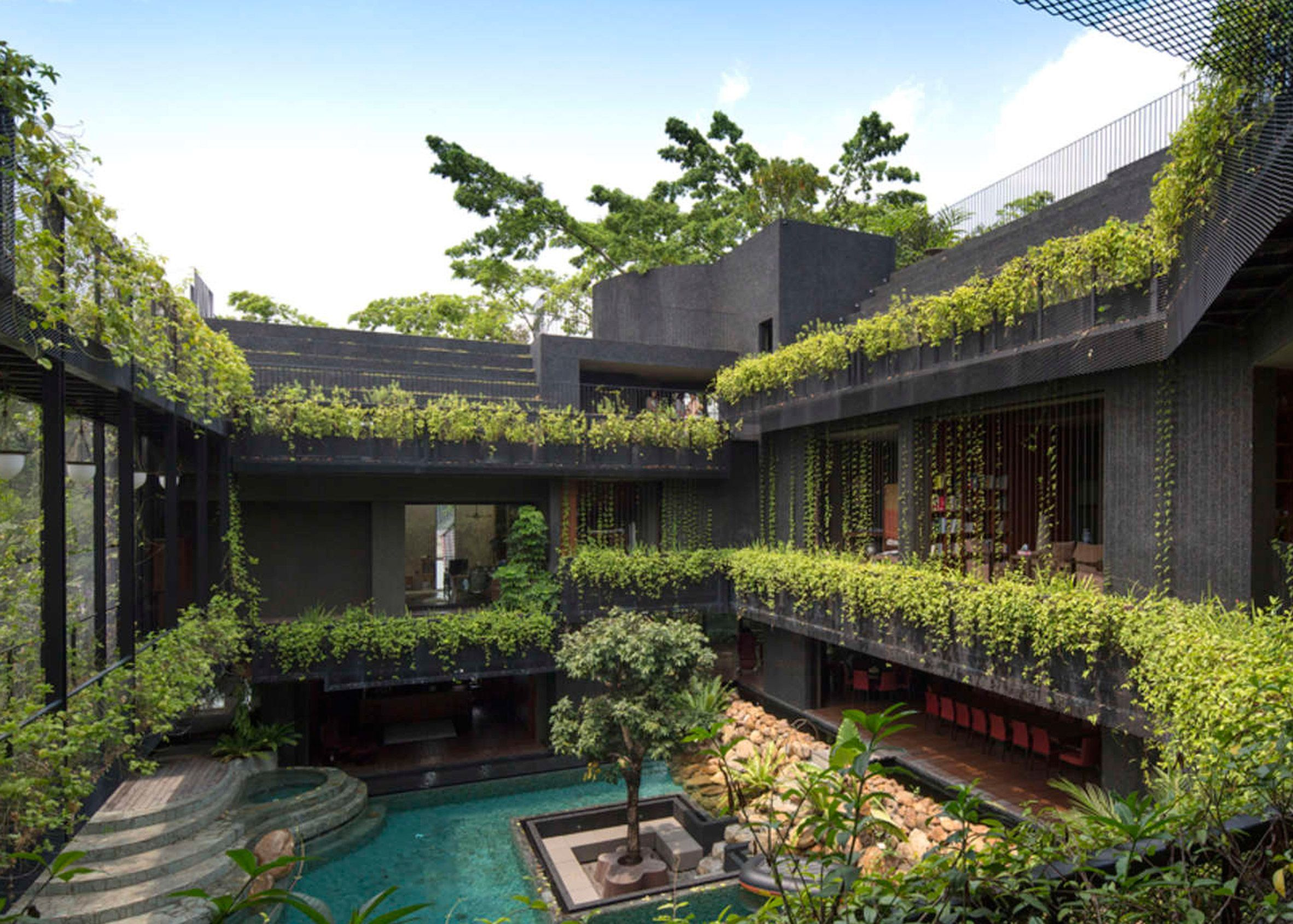 10 roof gardens from Dezeens Pinterest boards that each provide an oasis  Weve rounded up 10 of the best rooftop gardens from an oasis on top of a Sydney penthouse to a