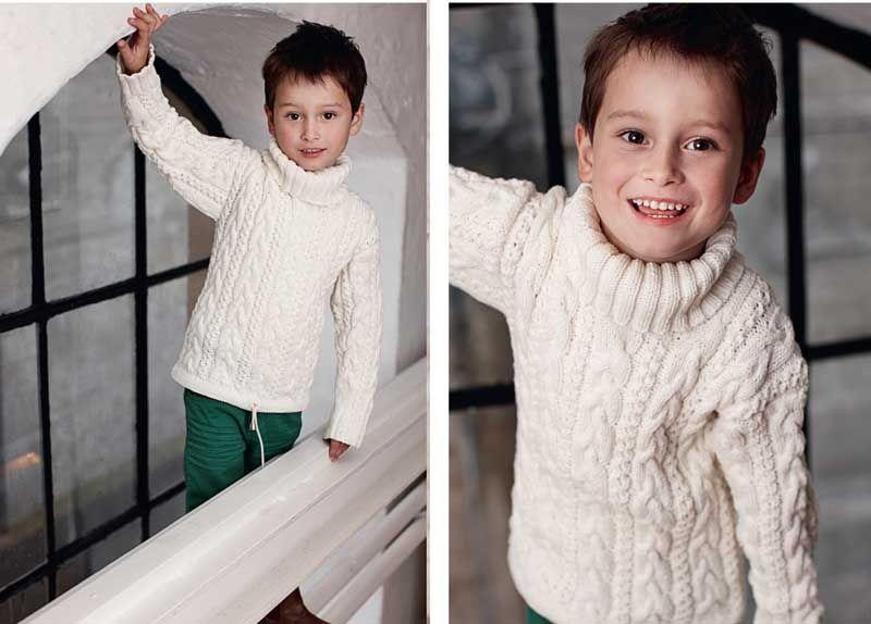 с свитера для косами схема мальчика