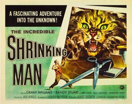 Incredible Shrinking Man half-sheet style B 1957