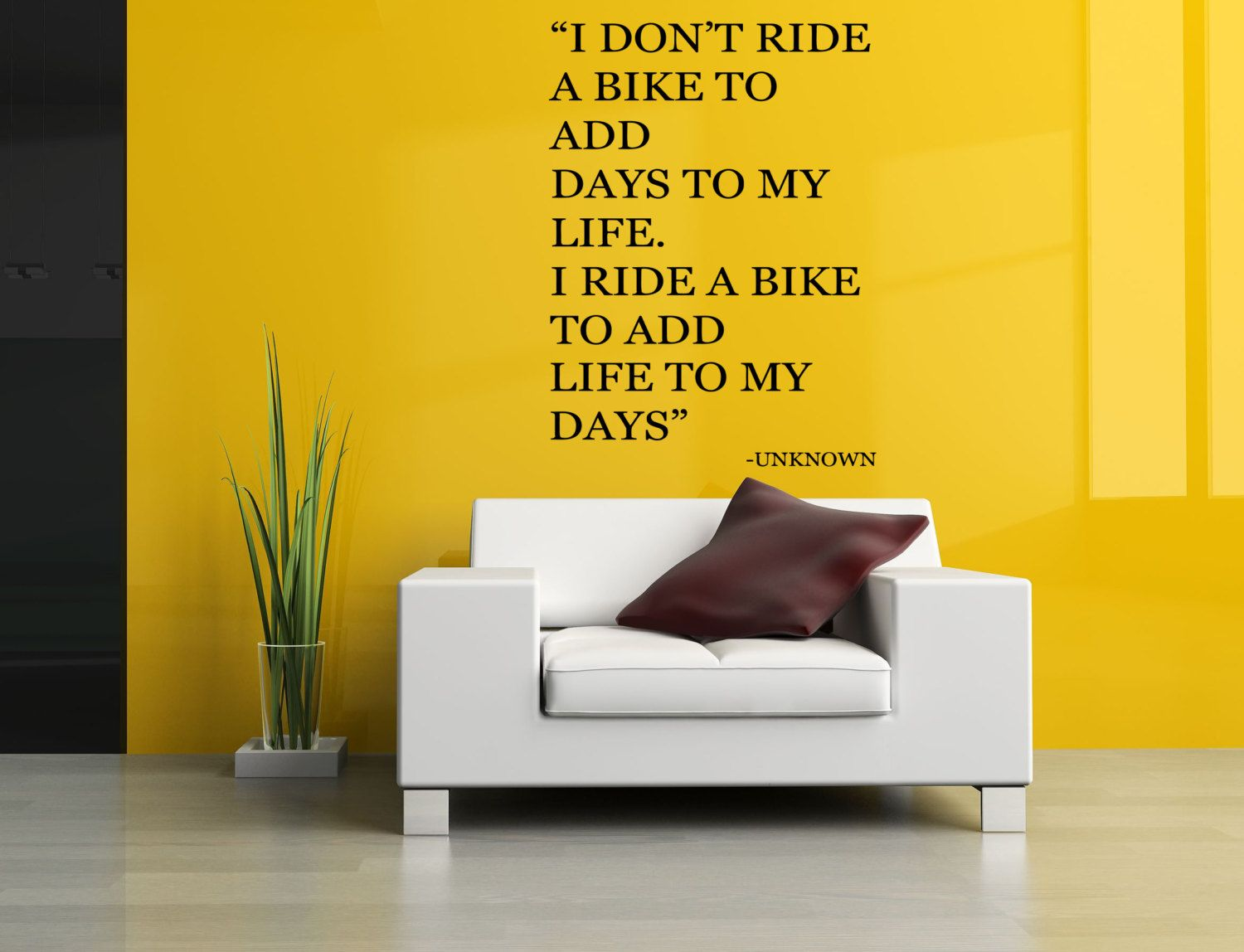 Removable Vinyl Sticker Mural Decal Wall Decor Poster Art Quote ...
