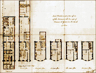 Above drawing of a house plan love these pinterest for Regency house plans