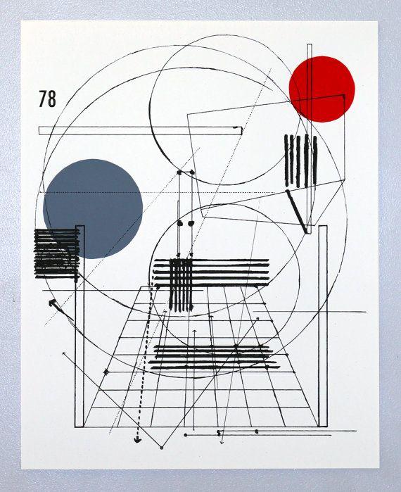 Ben Kafton Perspective Architecture 2, Architectural Graphic Design, 16 X  20 Inches Silkscreen Print