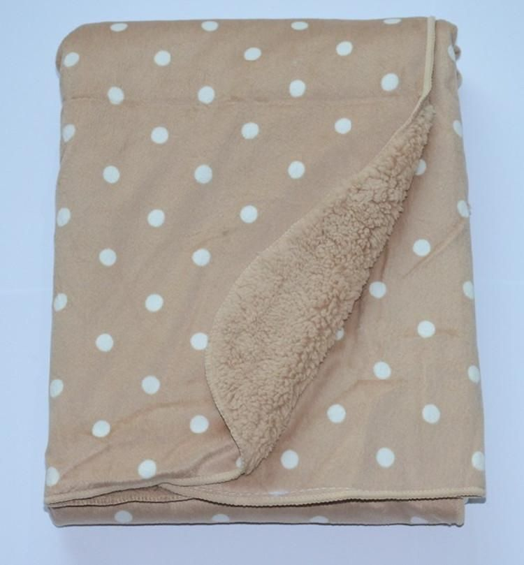 HIGH QUALITY SUPER SOFT DOUBLE LAYERED BABY BLANKET