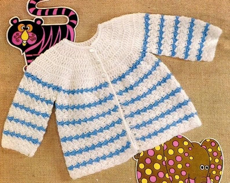 Baby lace matinee coat bonnet and boots in DK knitting pattern 0147
