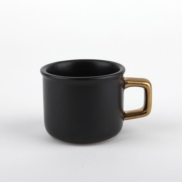 [⊙ Gold handle mug - 01 Espresso]