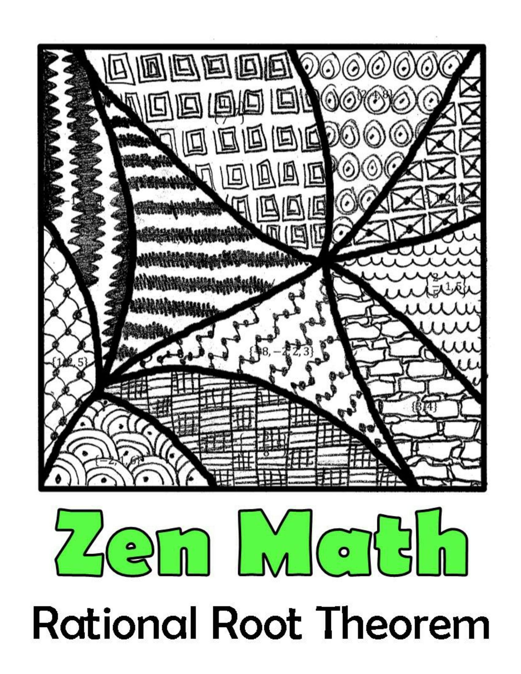 Algebra 2 Color By Number Mega Bundle 30 Activities For Skills Practice Rational Root Theorem Polynomials Math