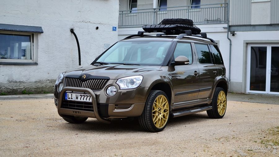 Skoda Yeti Tuning Automotive Group Car Photos Offroad