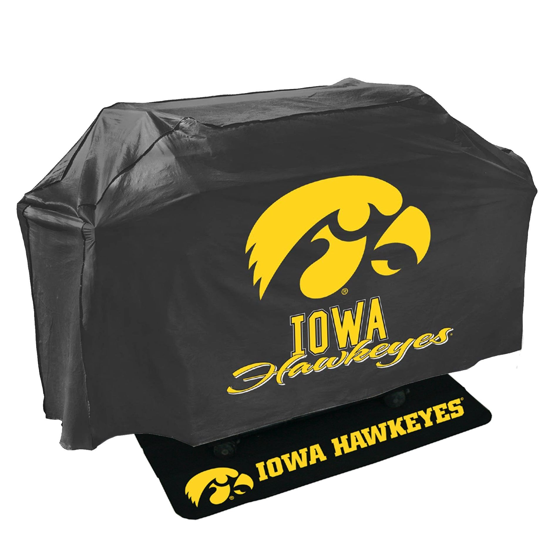 Mr Bar B Q Iowa Hawkeyes Ncaa Grill Cover and Grill Mat Set