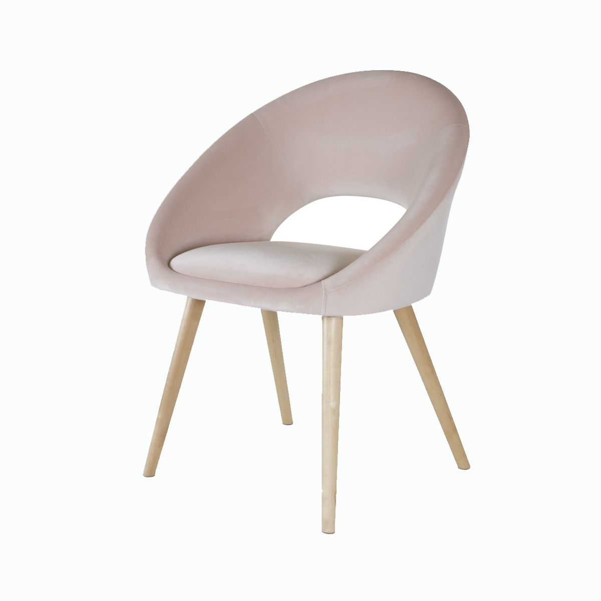 velvet occasional chair blush kmart 50 study nook occasional chairs living