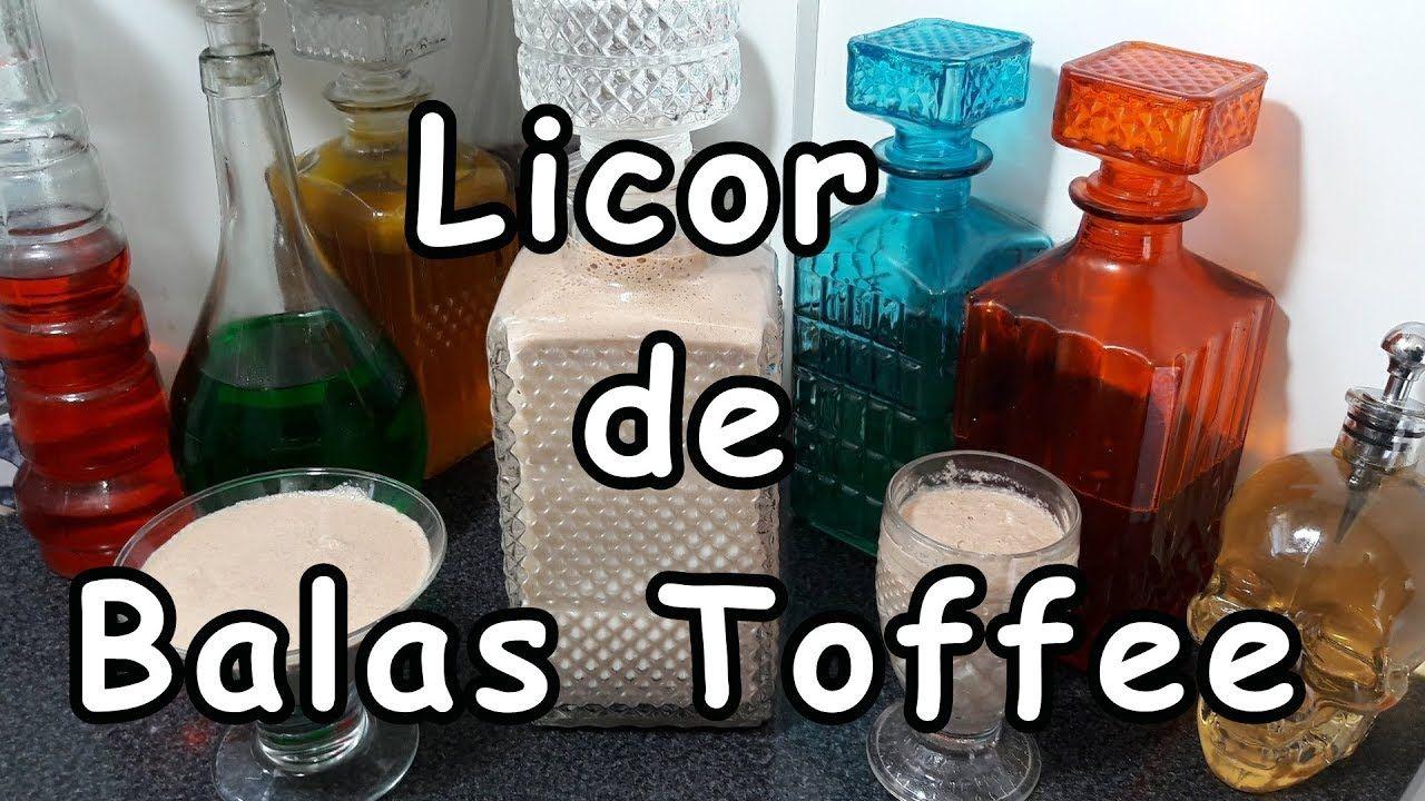 Licor De Balas Toffee Amarula Caseira Bebidas Sem Alcool Licor