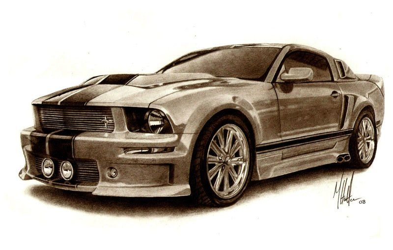 Muscle Car Sketches Auto Art Great Art Cars Sketches Car