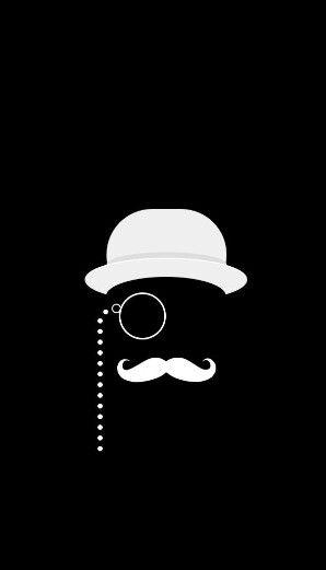 Mustache Iphone Wallpaper Background Iphone Wallpaper Man Cave Wall Art Black Wallpaper