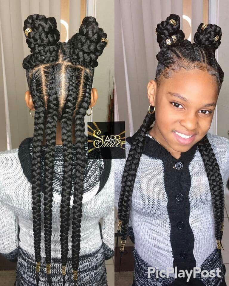 Jumbo Braids Hair Styles Black Girl Braids Girls Braids