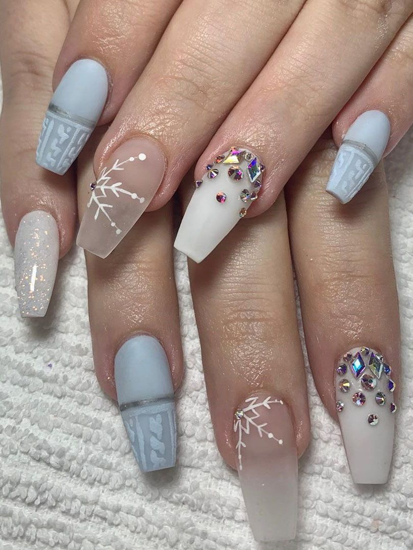 Acrylic Nails Winter Nail Colors 2020acrylic colors