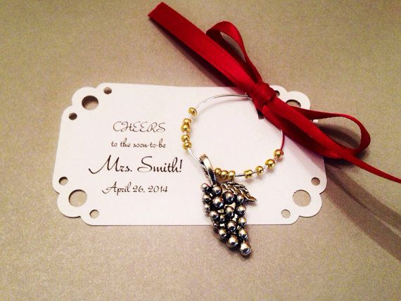 UNIQUE WINE GLASS CHARM DISPLAY//GIFT BOX ~ Holds 6 Charms//Pendants~not included