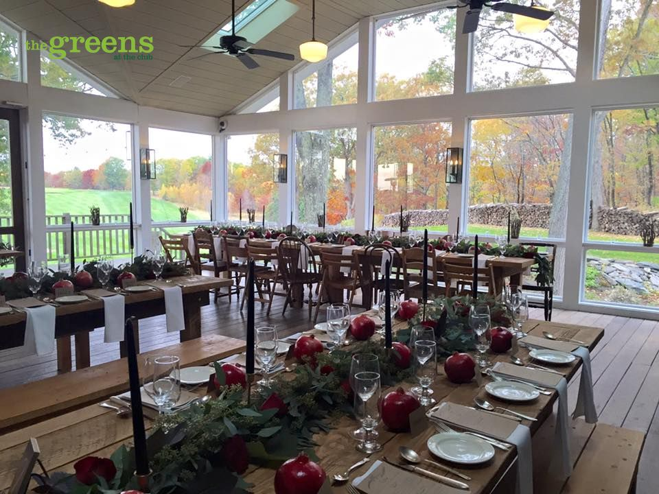 An autumn wedding at Copake Country Club in beautiful