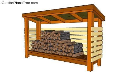 Firewood Shed  sc 1 st  Pinterest & Firewood Shed | Outdoor Shed Plans Free | Pinterest | Firewood ...
