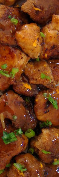 Hoopfinity's Happenings: Baked Chinese Orange Chicken