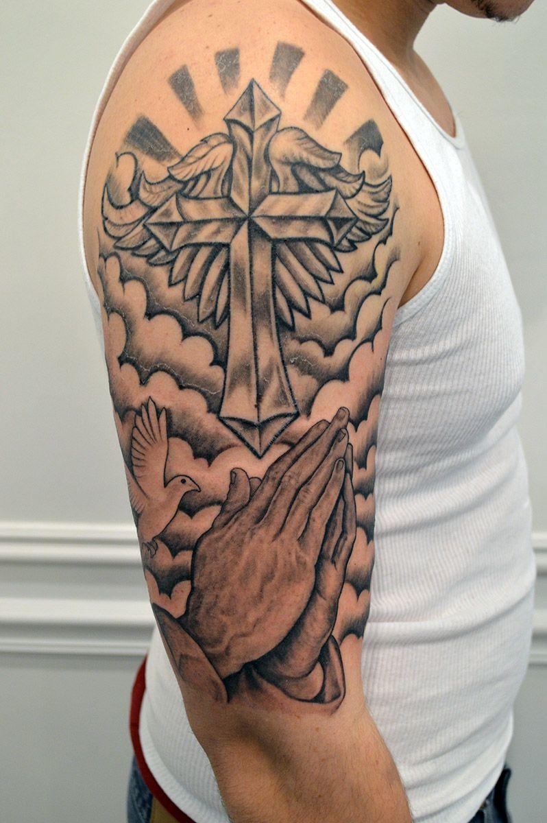 39++ Stunning Christian inspired tattoo sleeve ideas