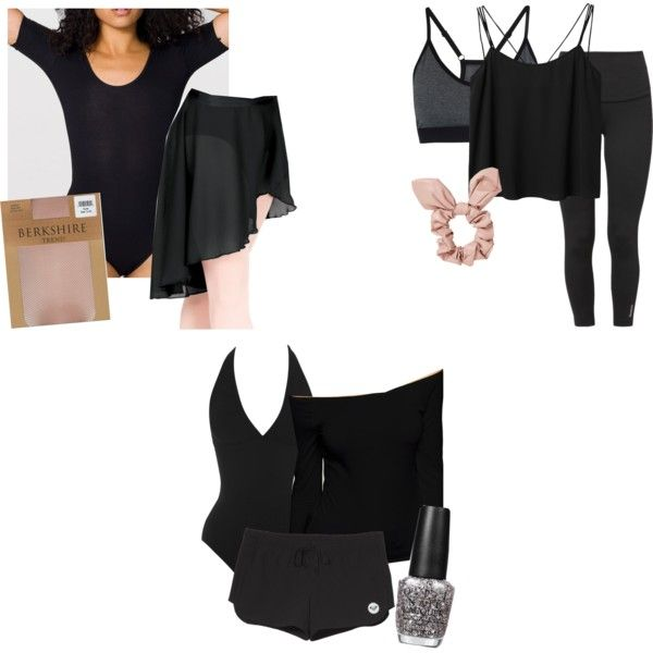 ec7db42a24fa Kat Inspired All-Black Dance Outfits by stephlv on Polyvore featuring ASOS,  Monki,