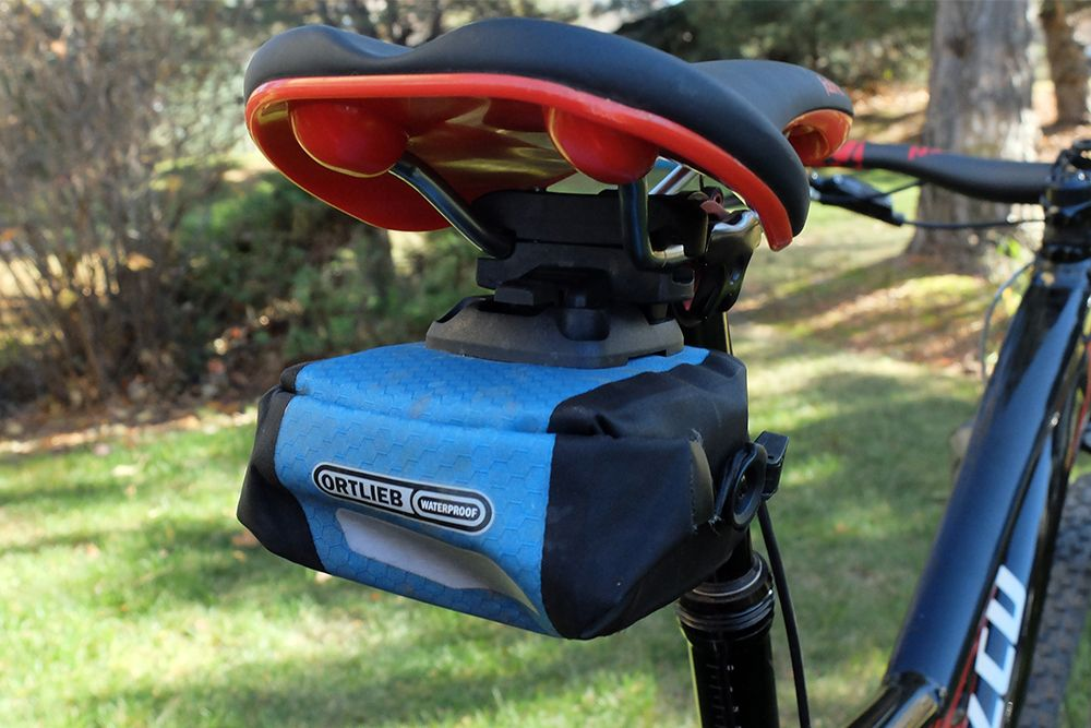 Reviewed Ortlieb Micro Saddle Bag Bags Saddle Bags Bike