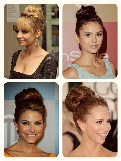 Top 3 Easy Daily Hairstyles Ideas For Medium Hair High Bun
