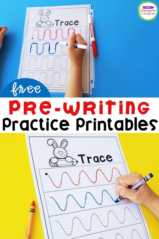 Free Pre Writing Printables Pre Writing Practice Kindergarten Writing Activities Pre Writing [ 1500 x 1000 Pixel ]