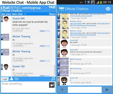 login facebook online chat