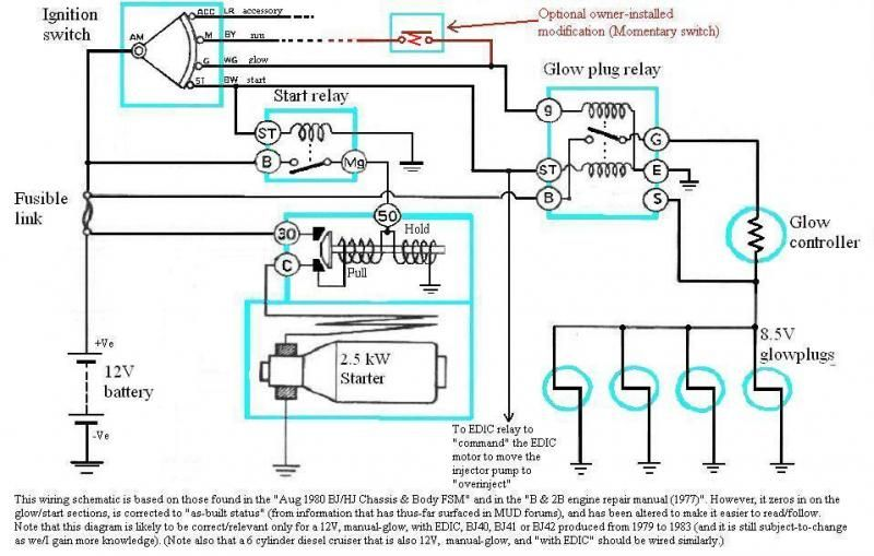 Isuzu Heat Plugs Wiring Diagram