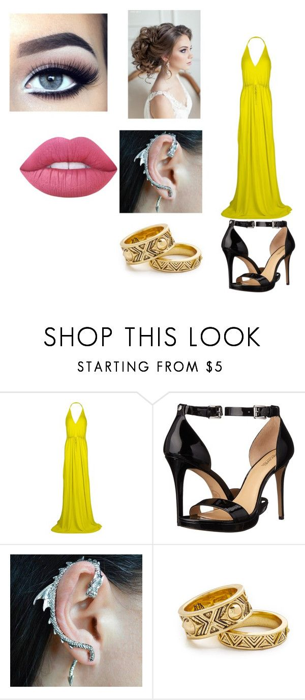 """""""Sin título #98"""" by evelyn-mendoza-1 on Polyvore featuring moda, Roberto Cavalli, MICHAEL Michael Kors, House of Harlow 1960 y Lime Crime"""
