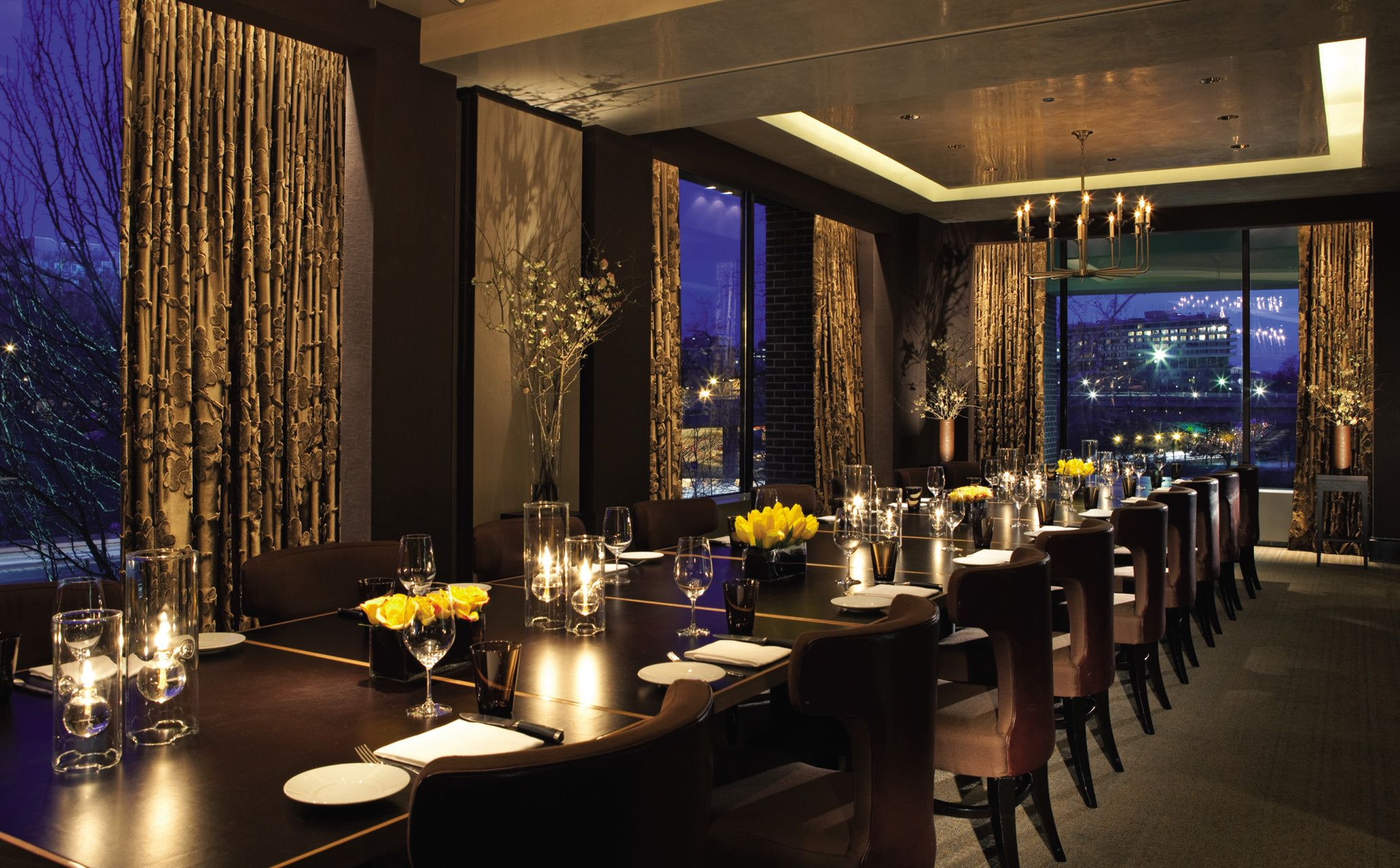 Best Private Dining Rooms Nyc Painting bourbon steak private dining room at the four seasons  washington