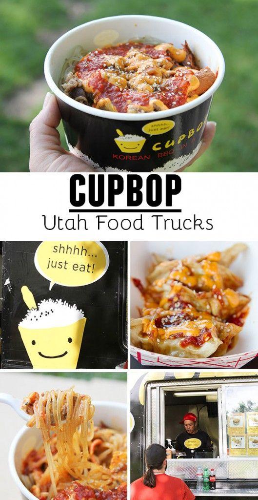 Cupbop Utah Food Truck Serving Korean Stlye Bbq Food Trucks