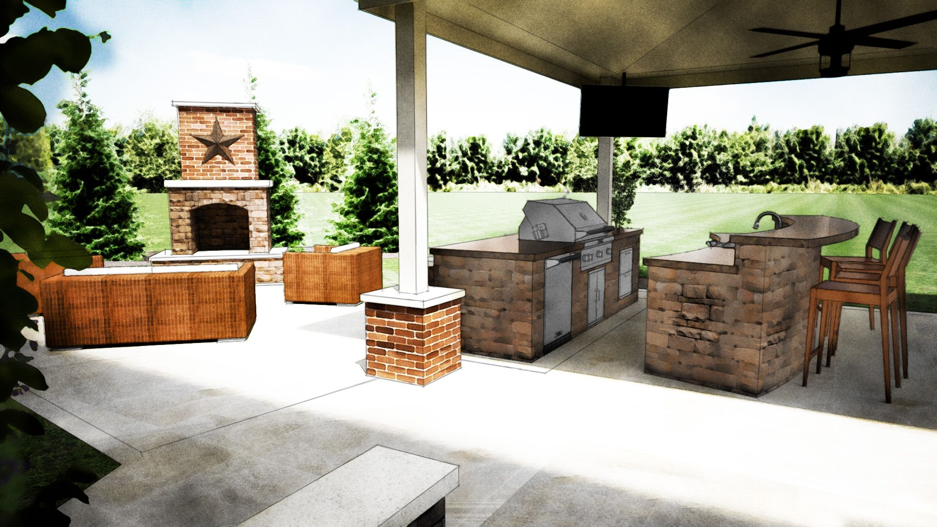 Bbq Outdoor Kitchen Designs  Httpjubiz  Pinterest Classy How To Design An Outdoor Kitchen Design Decoration