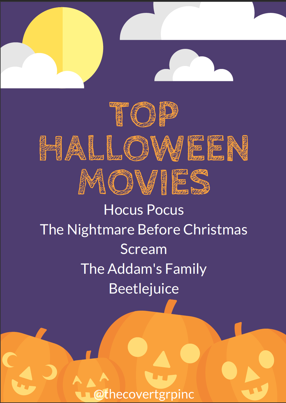 Staying in this Halloween? Here are the top Halloween