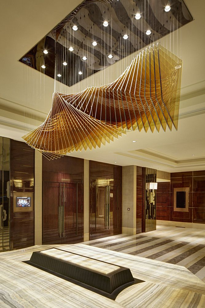 Four seasons hotel beijing by hirsch bedner associates for Hotel ceiling design