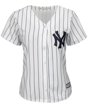 345836cb9 Majestic Women s New York Yankees Cool Base Jersey - White M ...