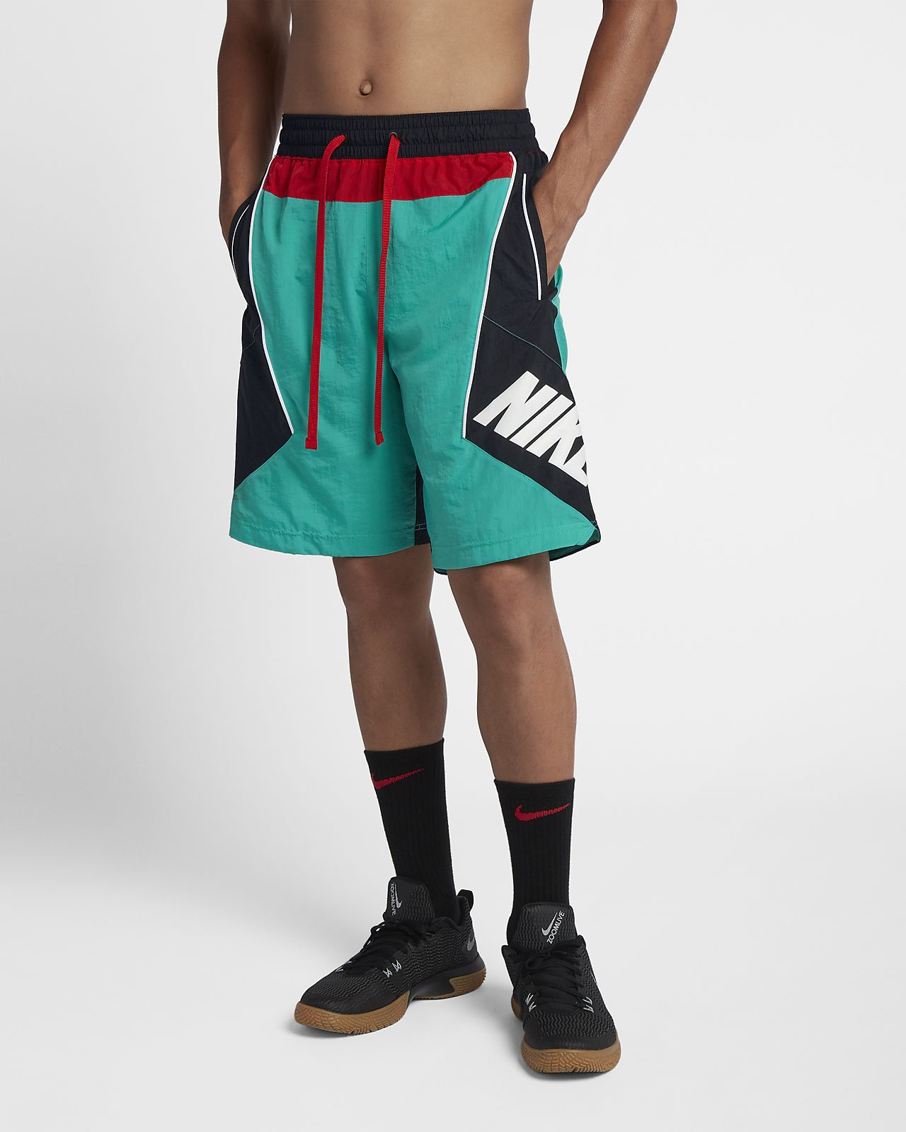 1cd7ac97d70 Nike Throwback Men's Basketball Shorts | Khadrian's birthday | Mens ...