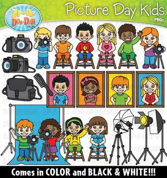 Picture Day Kids Clipart {Zip-A-Dee-Doo-Dah Designs ...