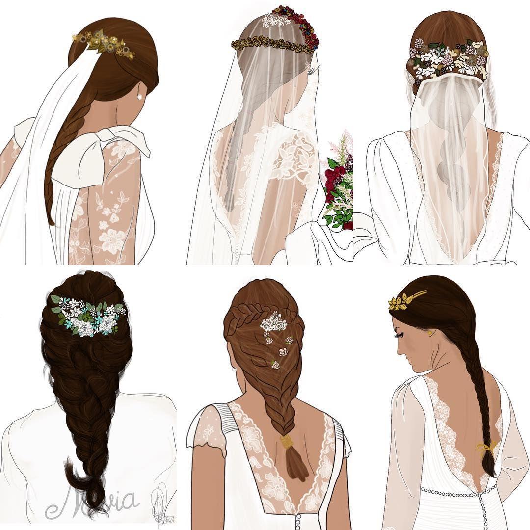 """827 Me gusta, 16 comentarios - DRESS BY YES (@dressbyyes) en Instagram: """"Hoy, especial trenzas! . . . Más info en la web  . . . #weddinggown #weddingdress #perfectdress…"""""""