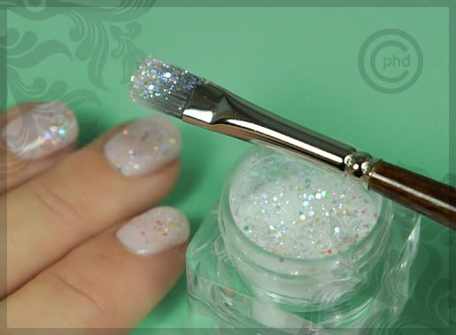 How To Ly Loose Glitter Nails Pinterest