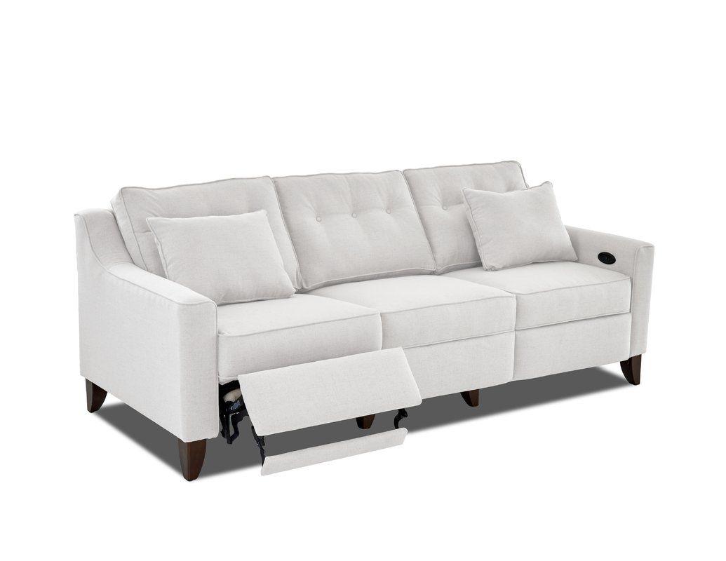 Wayfair Custom Upholstery Logan Reclining Sofa Reviews