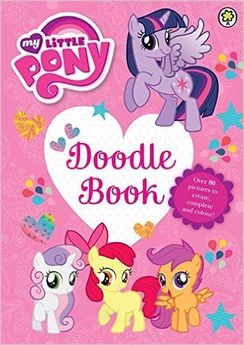 My little pony doodle book