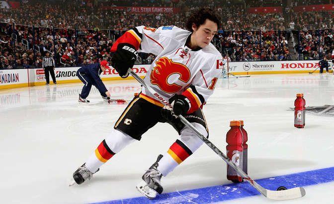 big sale 10ed8 8ee27 Johnny Gaudreau @ 2015 NHL all star game   John Gaudreau ...