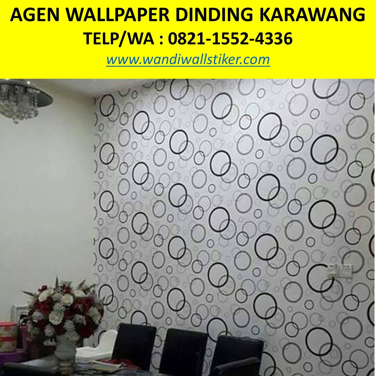 Wallpaper Dinding Awan Wallpaper Dinding Bunga Wallpaper