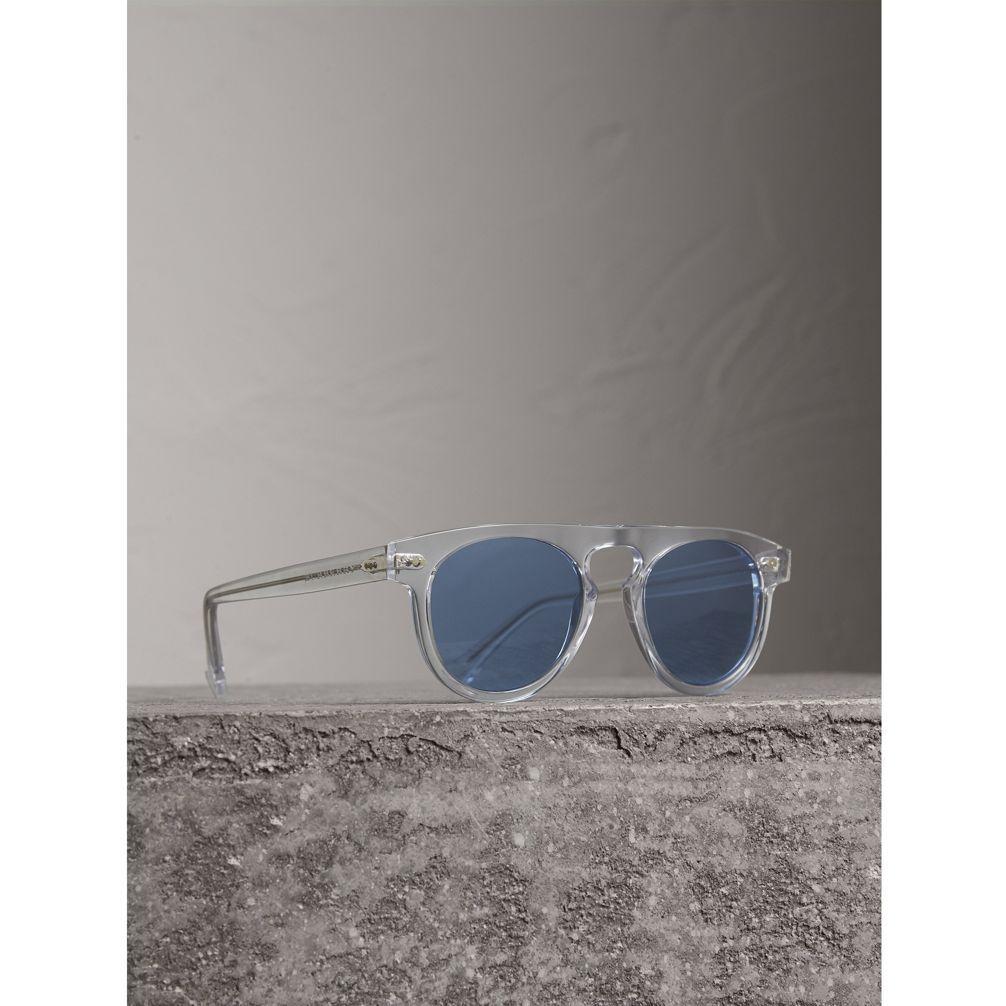 f8f395202479 #burberry #. BURBERRY . #burberry # Round Frame Sunglasses, Cat Eye  Sunglasses, Mirrored Sunglasses,