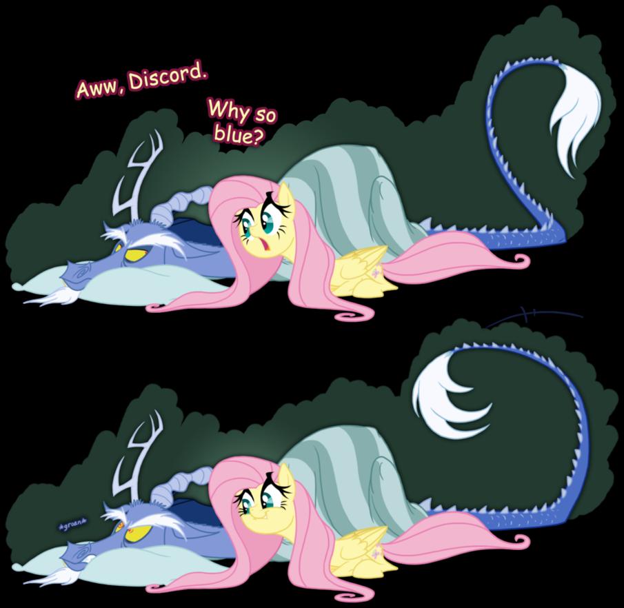 Discord's Blue Period by grievousfan on deviantART