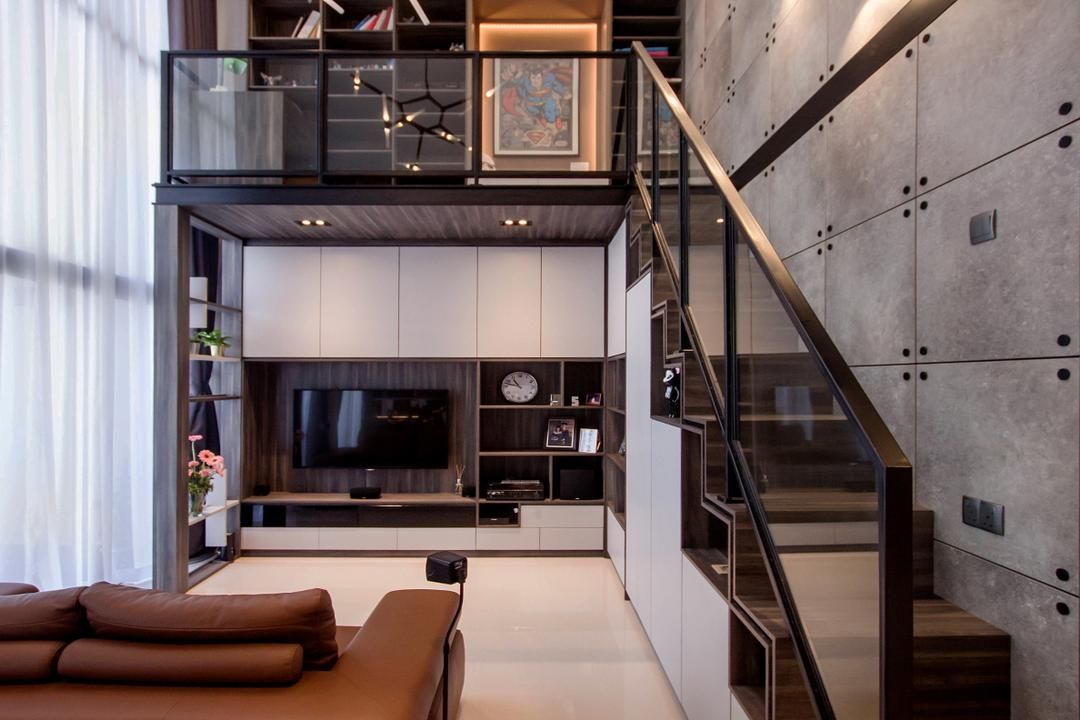The Trilinq Interior Design Renovation Projects In Singapore Loft House Design Loft Design Interior Design Singapore