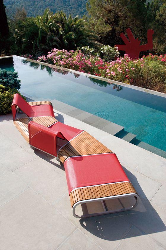 Stylish Ego Paris Lounge Pool Furniture Pool Furniture Outdoor