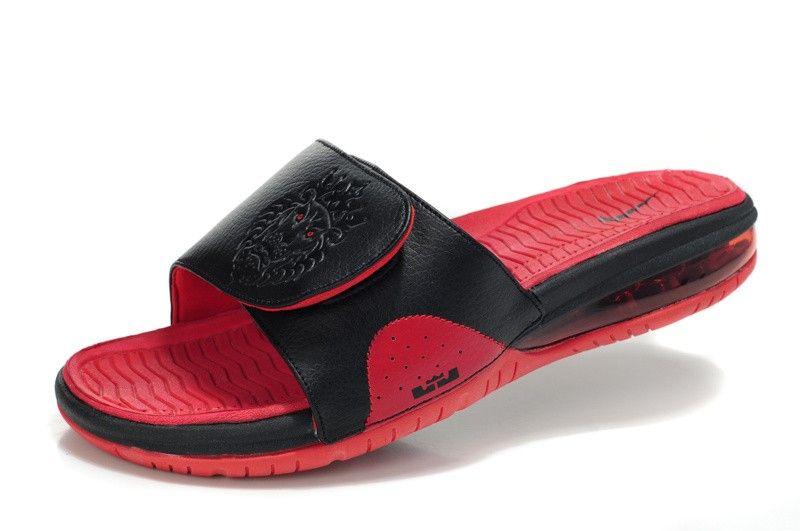 Nike Air Lebron 2 Slide Elite - Black red!$21.50USD