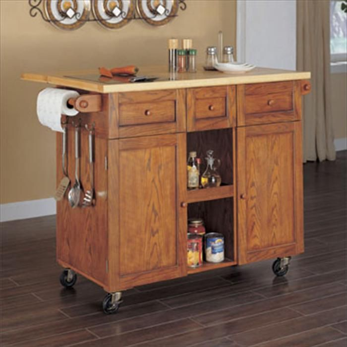Homemade Kitchen Island With Drop Leaf Top